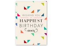 Fabulous Wishes Happy Birthday Card